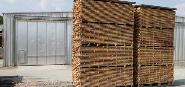 Kiln-dried lumber Virginia